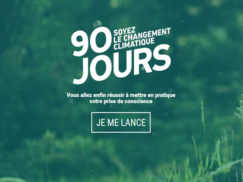 90 jours, l'application prise de conscience step by step !