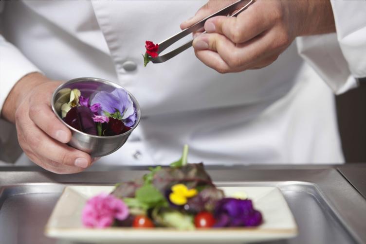 Des chefs à la cuisine fleurie !