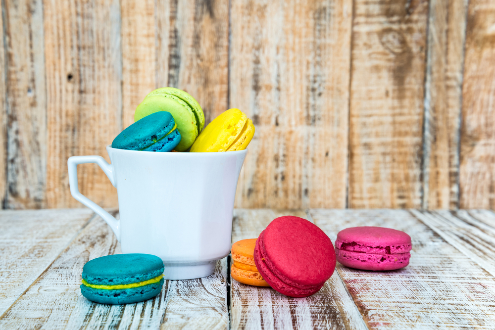 Les macarons …. So chic & glamour !
