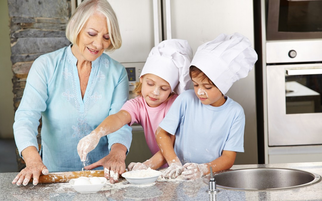 Nos recettes d'enfance avec mamie gâteau