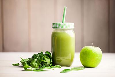 Recette du smoothie pomme basilic detox