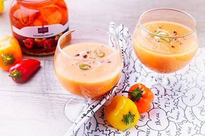 Recette smoothie ananas poivron tomate