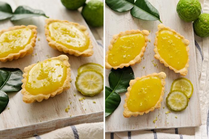 Tarte Lime Kaffir citron vert