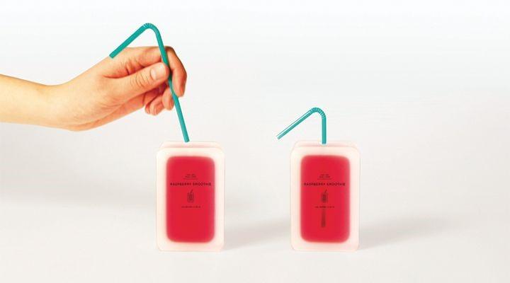emballage innovant et écologique comestible pour les liquides