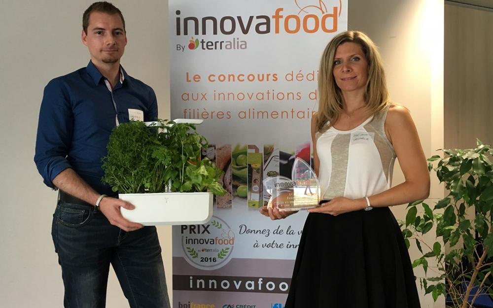 Lauréat du concours Innovafood, la FoodTech attitude !