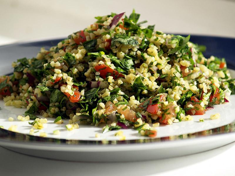 recette de taboulé oriental libanais au persil plat bio Veritable®