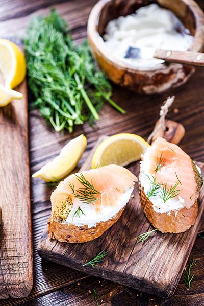 aneth pour assaisonnement des toast apéritifs et poisson