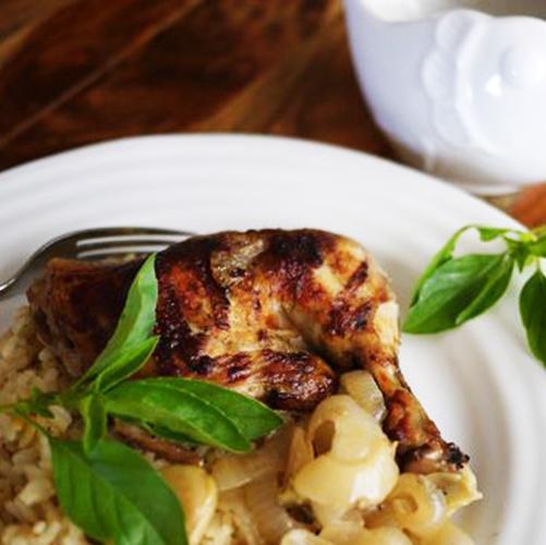 recette sénégalaise poulet yassa au basilic citron