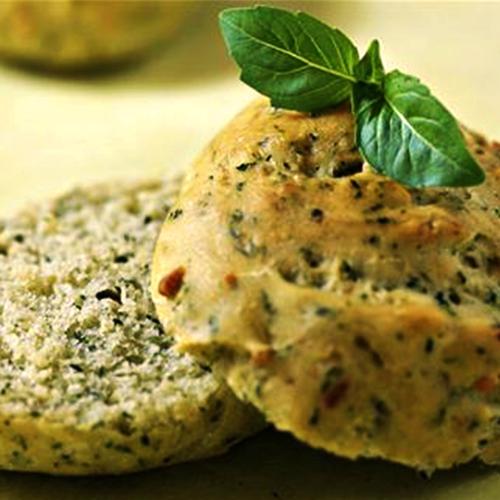recette de petits pains au basilic fin vert ou petites feuilles