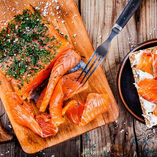 recette de fêtes Saumon Gravlax à l'Aneth & Chantilly maison