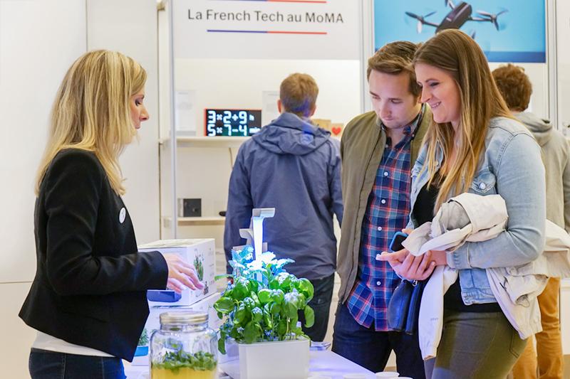 veritable garden french tech MoMA 2018