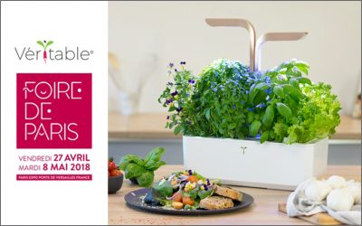 Foire de Paris 2018 : Découvrez les Potagers Véritable® stand H034