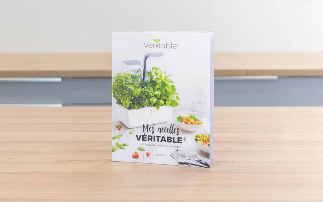 Sortie de notre livre «Mes recettes Veritable®, 80 façons de cuisiner mes aromates – Volume 1»