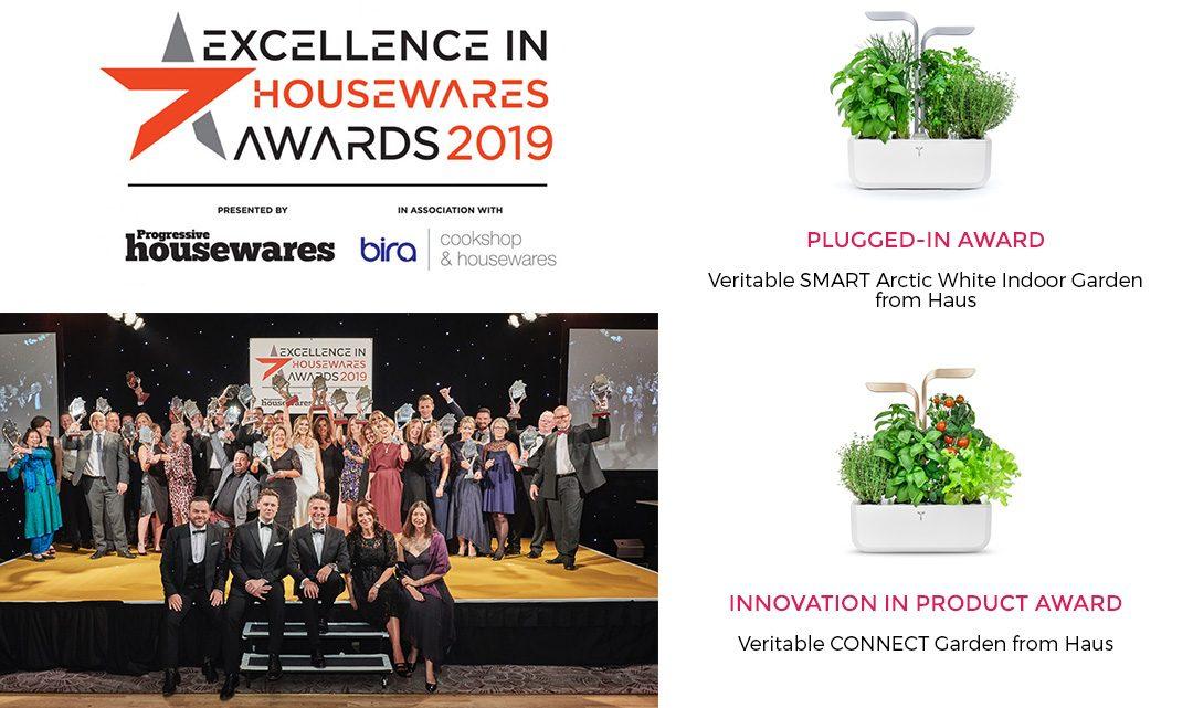 Véritable obtient deux récompenses lors de la cérémonie Excellence in Housewares