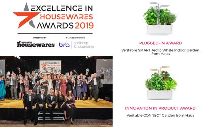 Véritable won 2 awards at the Excellence in Housewares Awards 2019
